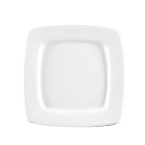 CAC China RCN-S6Q Clinton Square in Square Plate, 6 7/8""