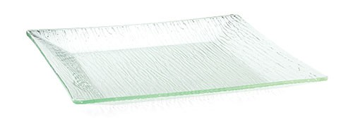 """TableCraft A1414 Cristal Collection Square Acrylic Tray, 14"""""""