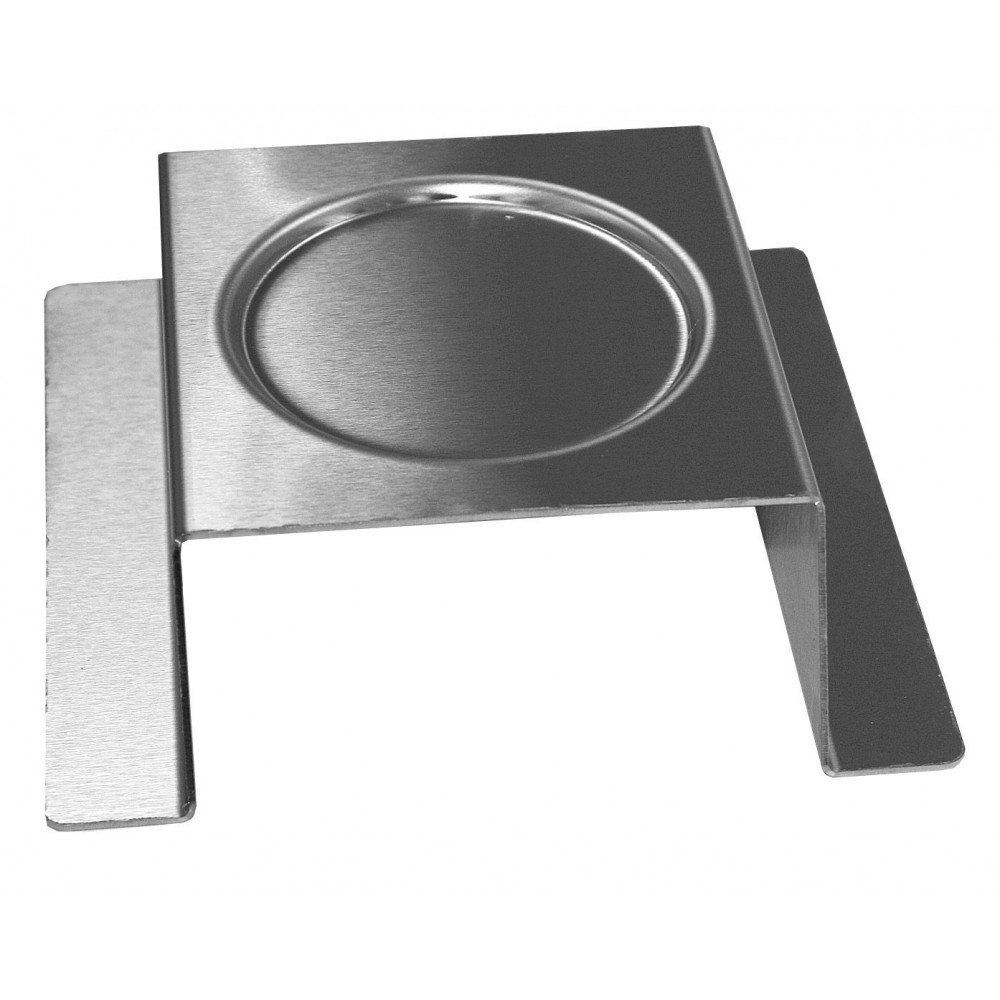 Square Burner Stand Stainless Steel Brushed Finish- 7