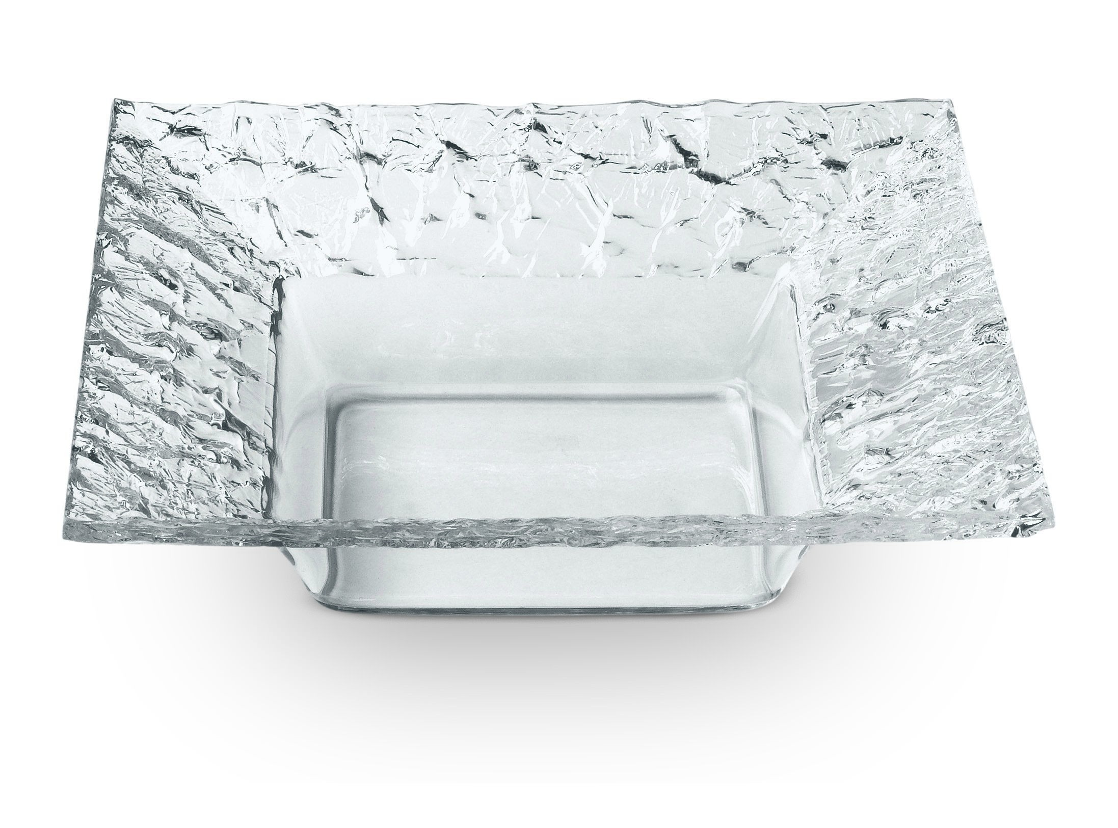 """Rosseto PPS7C Clear Acrylic Square Dish 7"""" x 7"""""""