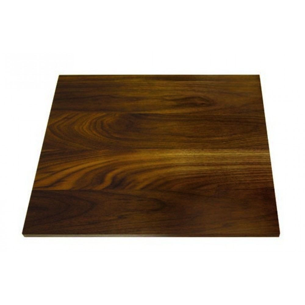 "Rosseto WP301 Square Walnut Wood Surface 14"" x 14"""