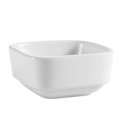 CAC China SHA-Q3 Sushia Square Bowl 4.5 oz.