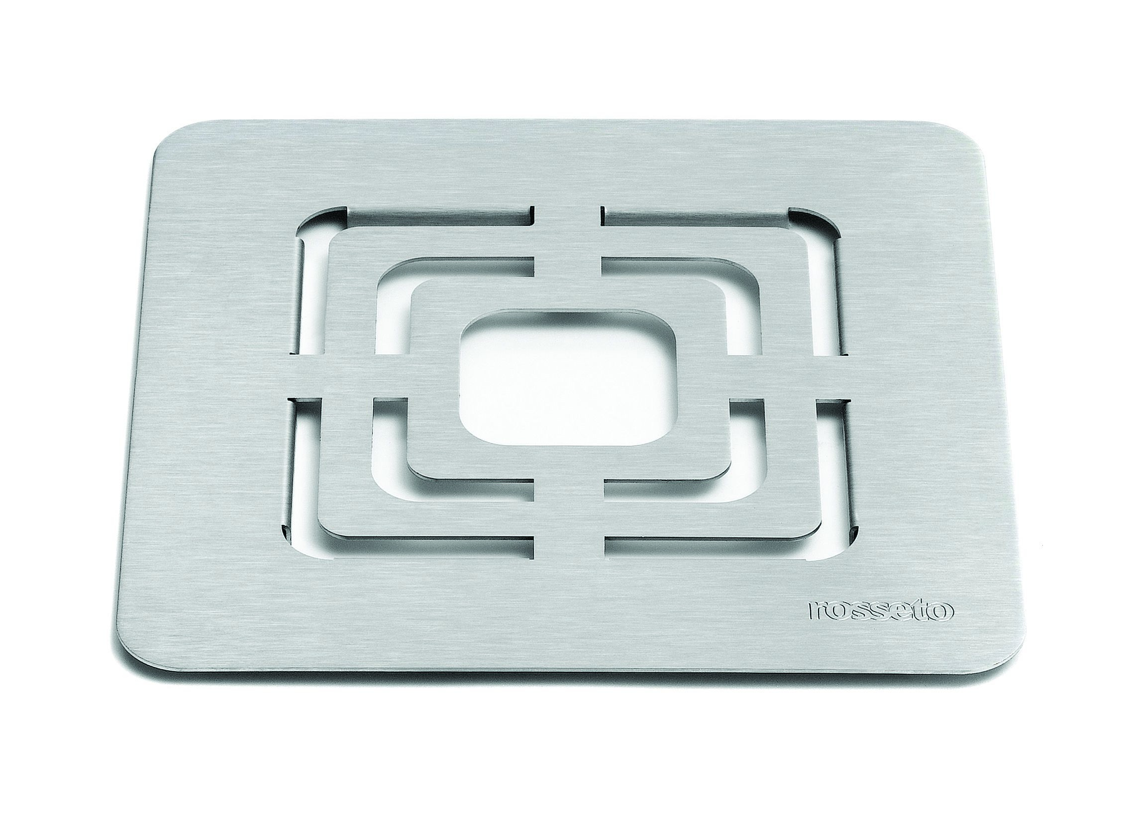 Square Grill Stainless Steel Brushed Finish- 10