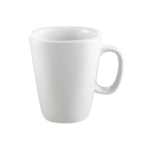 CAC China KSE-M8 Kingsquare Square Mug, 8 oz.