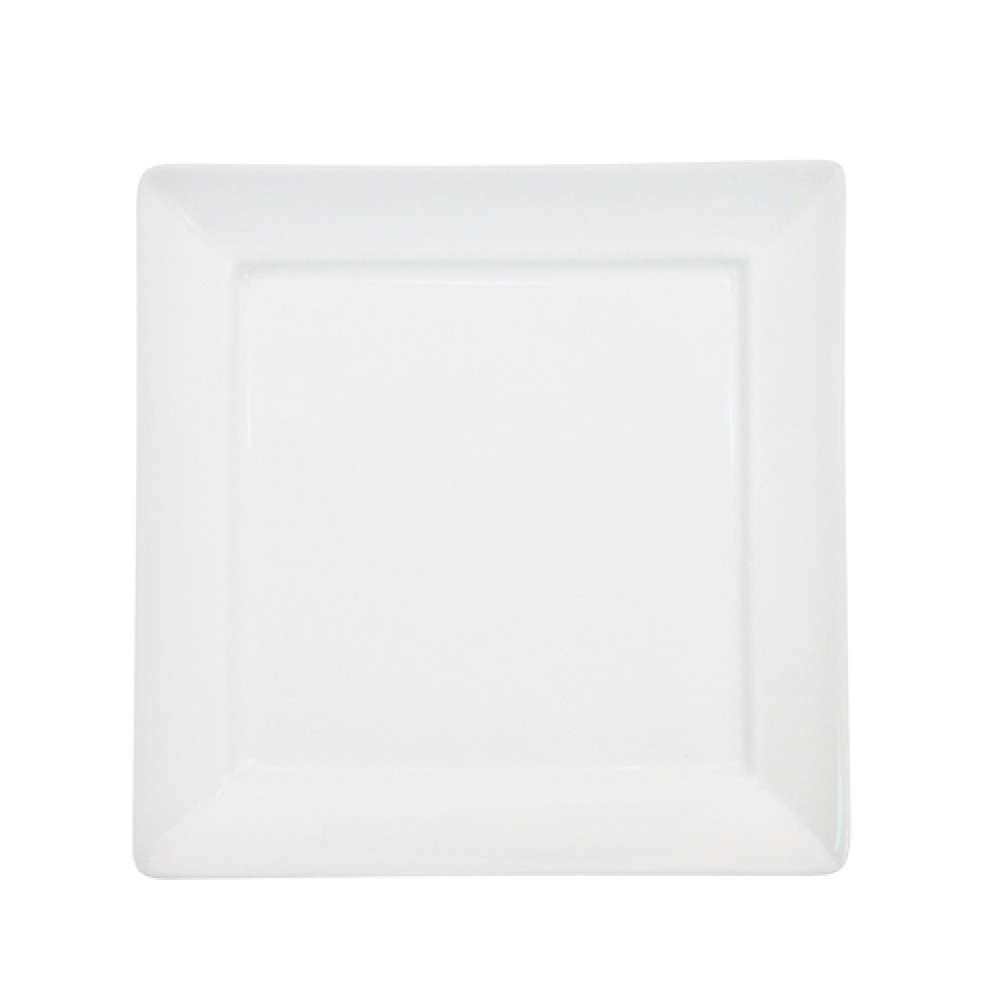 CAC China F-SQ16 Paris-French Square Plate 10 1/4""
