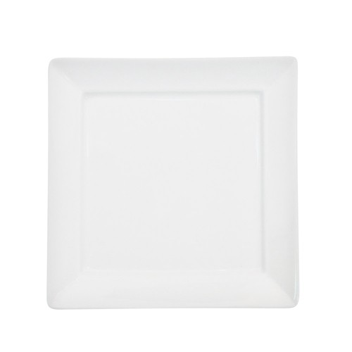 CAC China F-SQ8 Paris-French Square Plate 9""