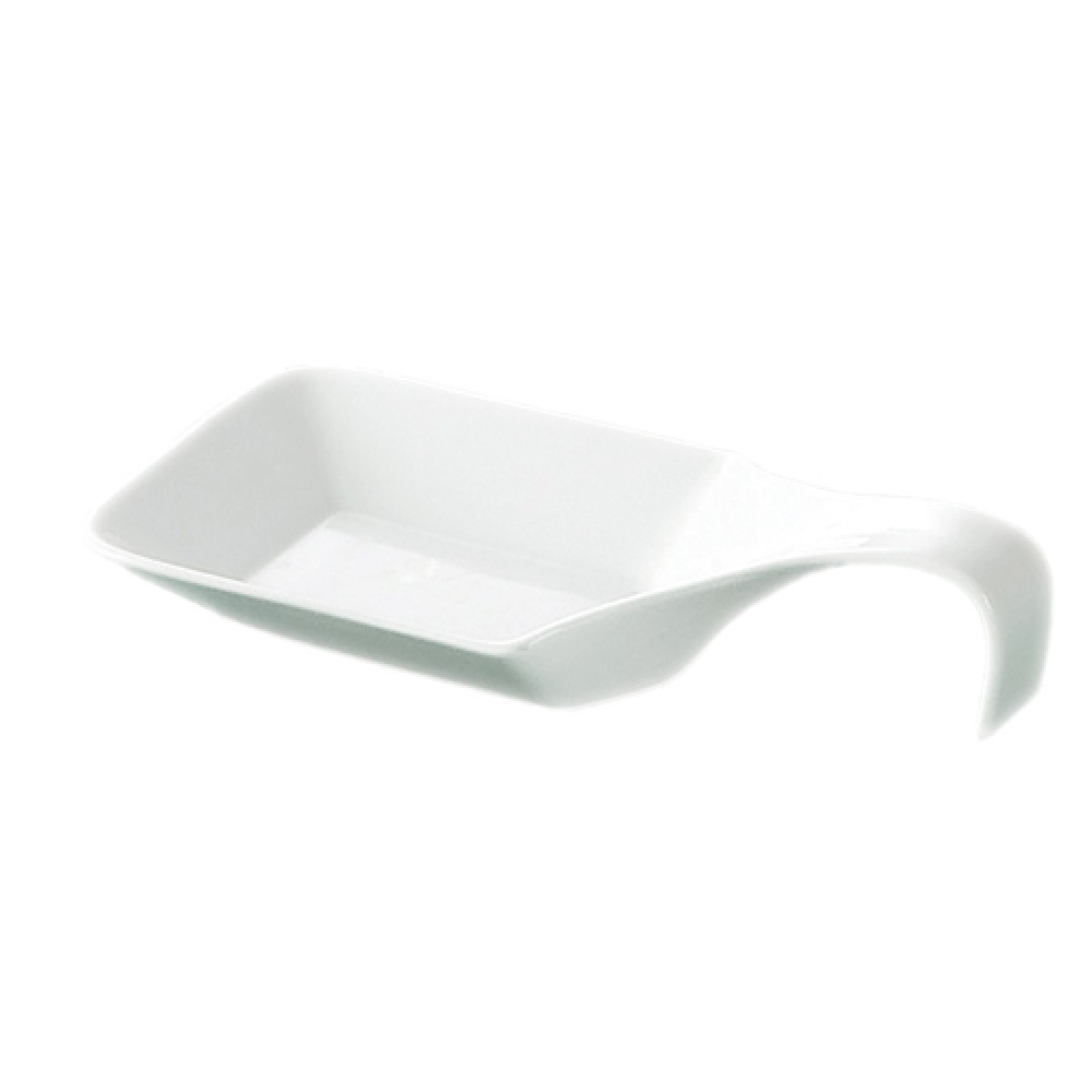 "CAC China PTS-46 Party Collection 9 oz. Square Spoon, 9 3/4"" x 5"" x 1"""
