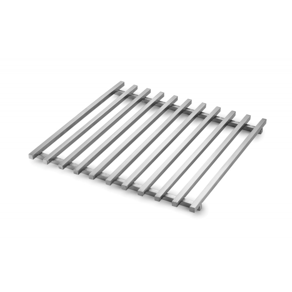 "Rosseto SM219 Square Track Grill for Mini-Chef Warmer Stainless Steel 13.2"" x 13.5"" x 0.8"""