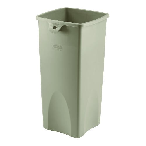 Square Trash Container, 50 Gallon