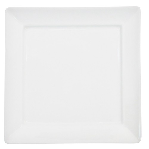 CAC China F-SQ14 Paris-French Square Plate 14""
