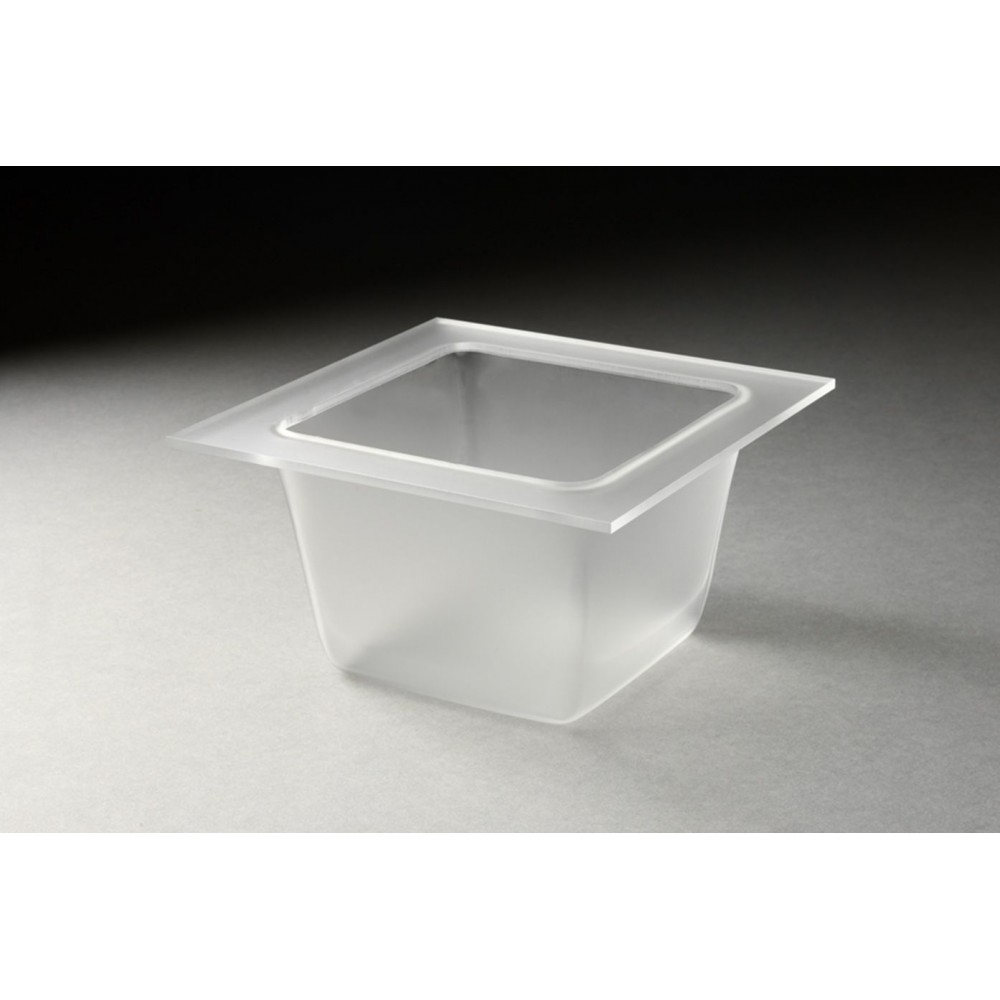 Square Tray Frosted