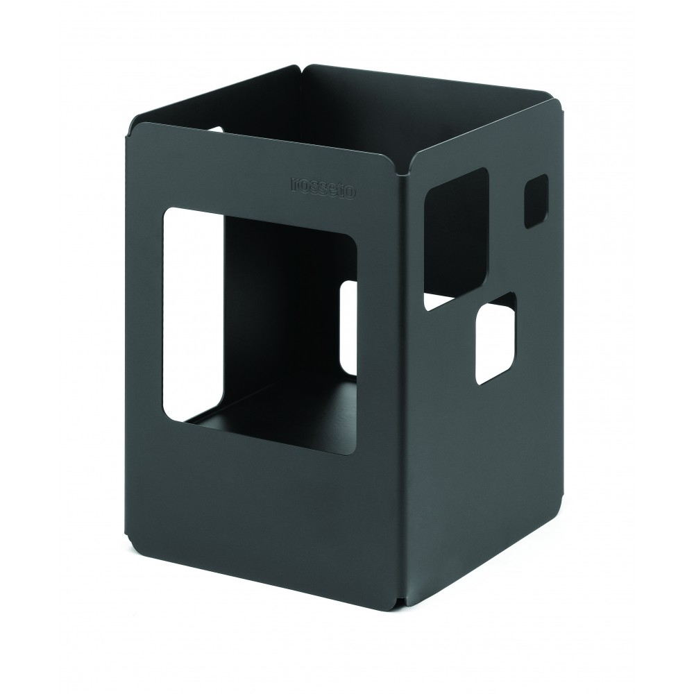 Square Warmer Black Powder Coated Finish- 7