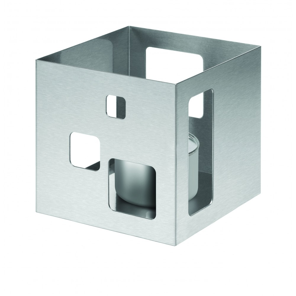 Square Warmer Stainless Steel Brushed Finish- 7.25