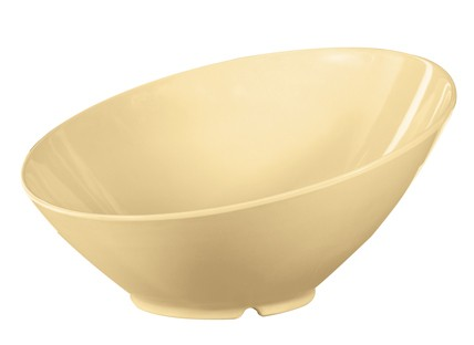 G.E.T. Enterprises B-789-SQ Diamond Harvest Squash 1.1 Qt. Melamine Cascading Bowl