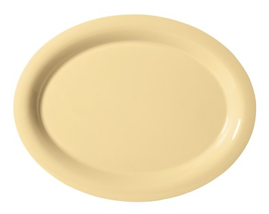 "G.E.T. Enterprises OP-120-SQ Diamond Harvest Squash Melamine 12"" x 9"" Oval Platter,"