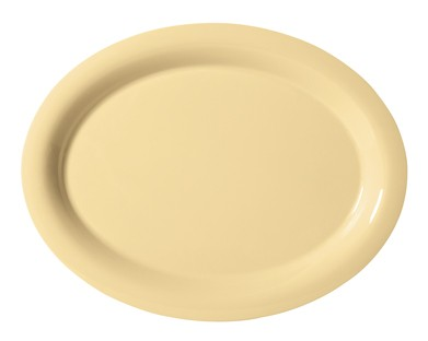 "G.E.T. Enterprises OP-950-SQ Diamond Harvest Squash Melamine 9-3/4"" x 7-1/4"" Oval Platter,"