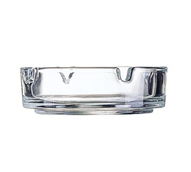 Stacking Luminarc Clear Glass Ash Tray - 4-1/4
