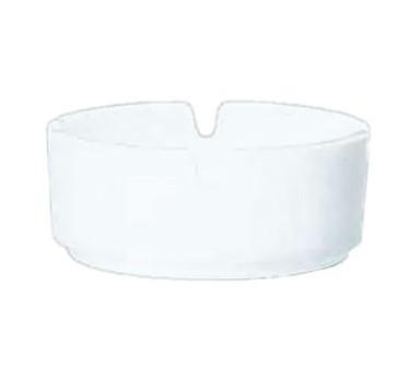 Stacking Luminarc White Glass Ash Tray - 3-1/4