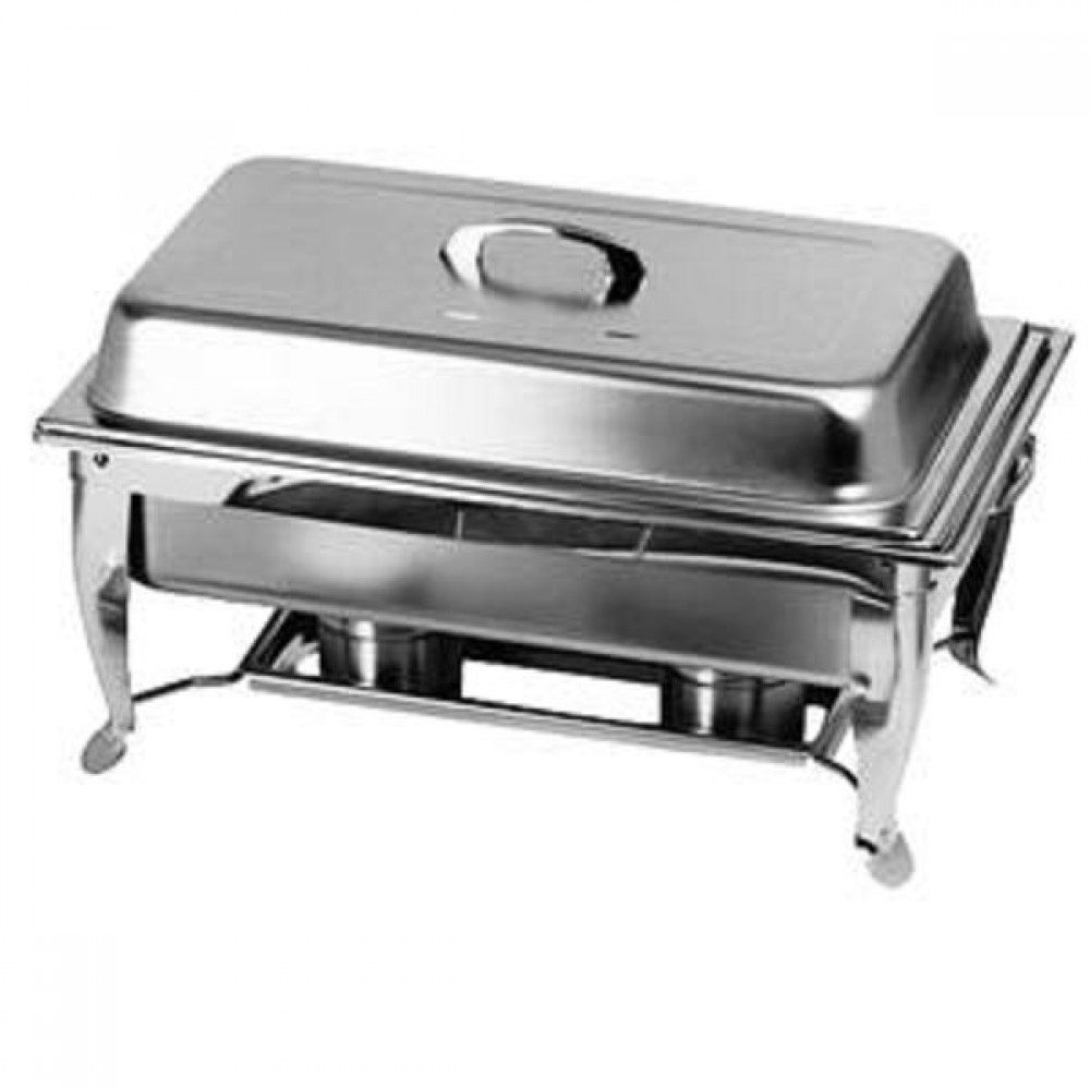 Thunder Group SLRCF005 Stainless Steel 8 Qt. Chafer with Folding Frame