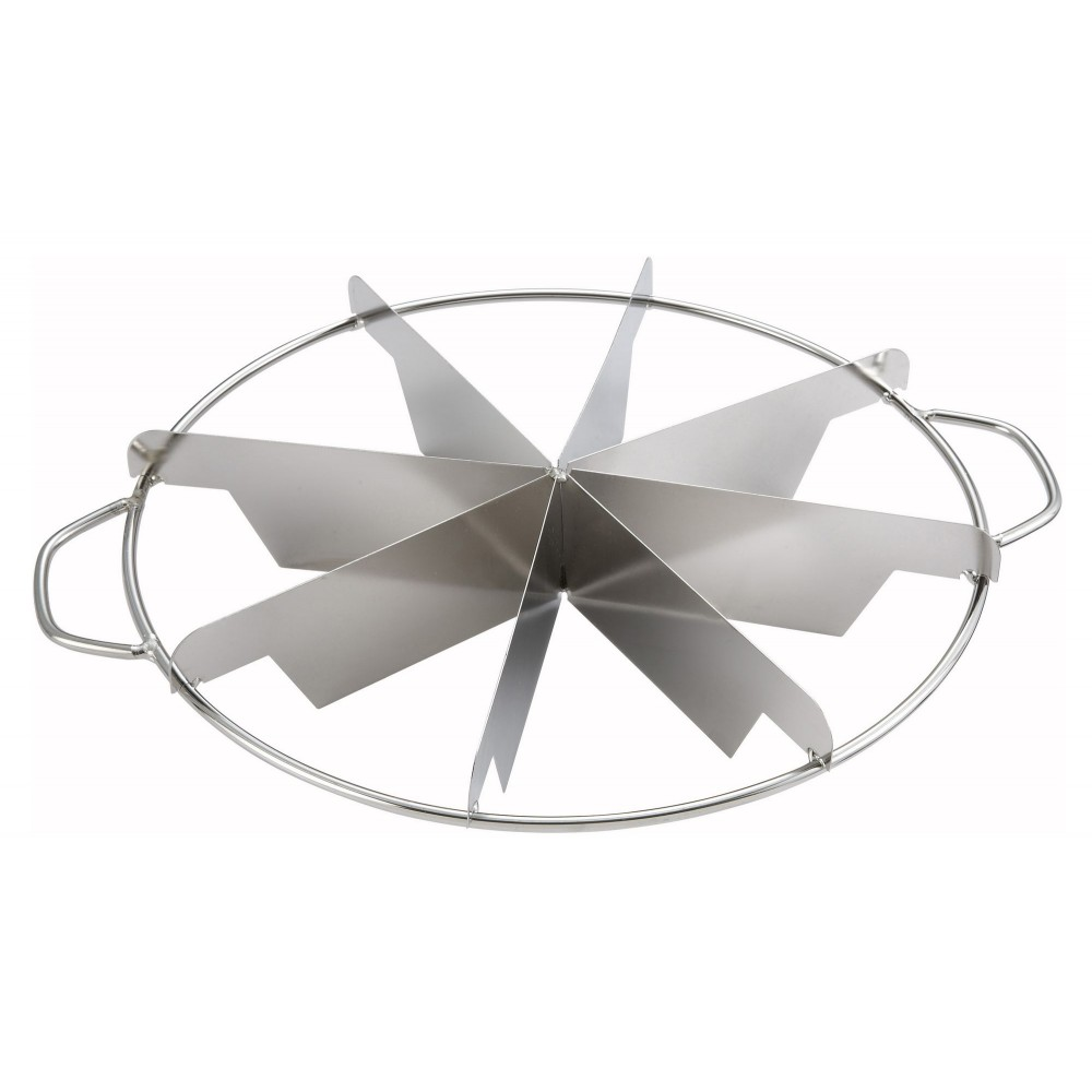 Winco SCU-8 8-Cut Stainless Pie Cutter