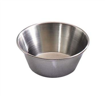 TableCraft 5066 Stainless Steel 1-1/2 oz. Sauce Cup