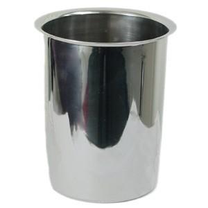 Stainless Steel 1.25-Qt Bain Marie - 4-1/8 Dia. X 5-5/8 Deep