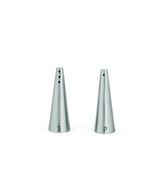 Stainless Steel 1 Oz. Conical Salt & Pepper Shaker Set