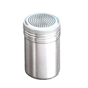 TableCraft 159 Stainless Steel 10 oz. Dredge without Handle