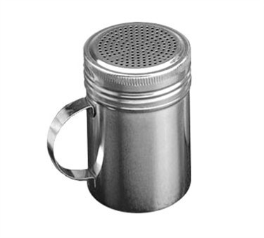 TableCraft H159 Stainless Steel 10 oz. Dredge with Handle