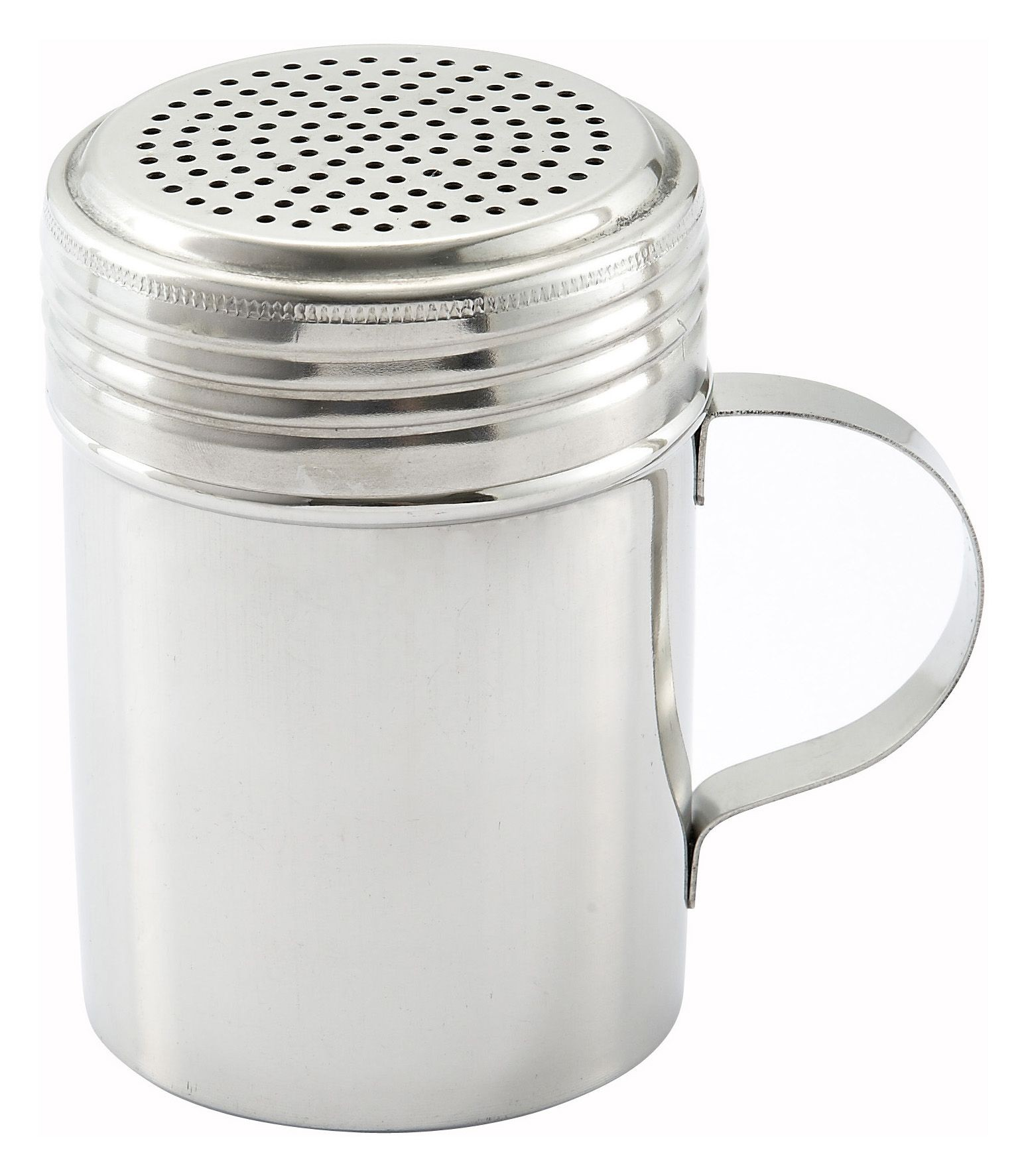 Winco DRG-10 Stainless Steel 10 oz. Dredge with Handle