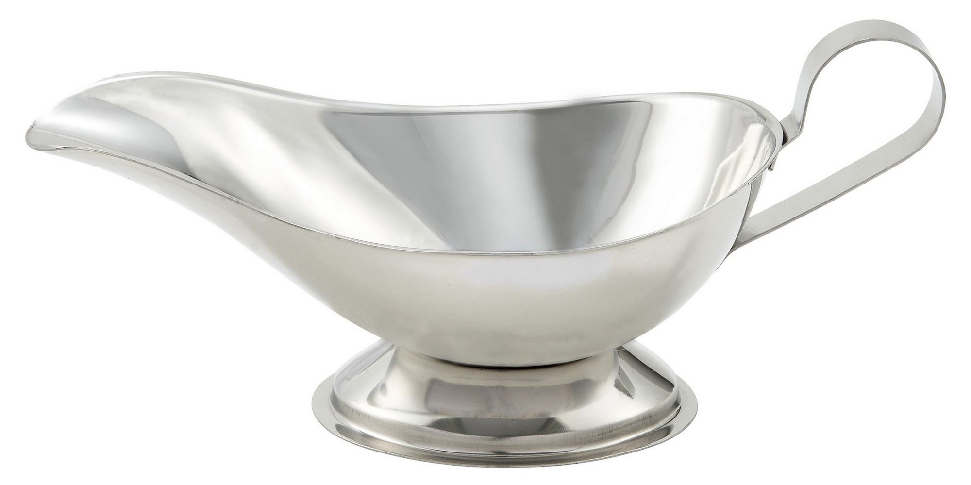 Winco gbs-10 Stainless Steel 10 oz. Gravy Boat