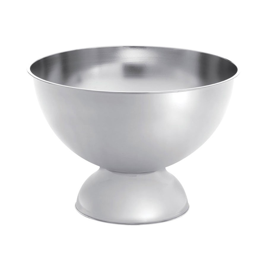 Stainless Steel 12 Qt. Punch Bowl - 14-3/4
