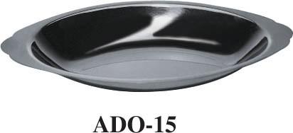 Stainless Steel 15 Oz Oval Au Gratin Dish