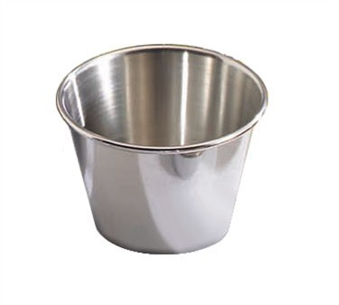 TableCraft 5067 Stainless Steel 2-1/2 oz. Sauce Cup