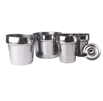 Winco INS-2.5 Heavy Weight Stainless Steel Inset 2-1/5 Qt.