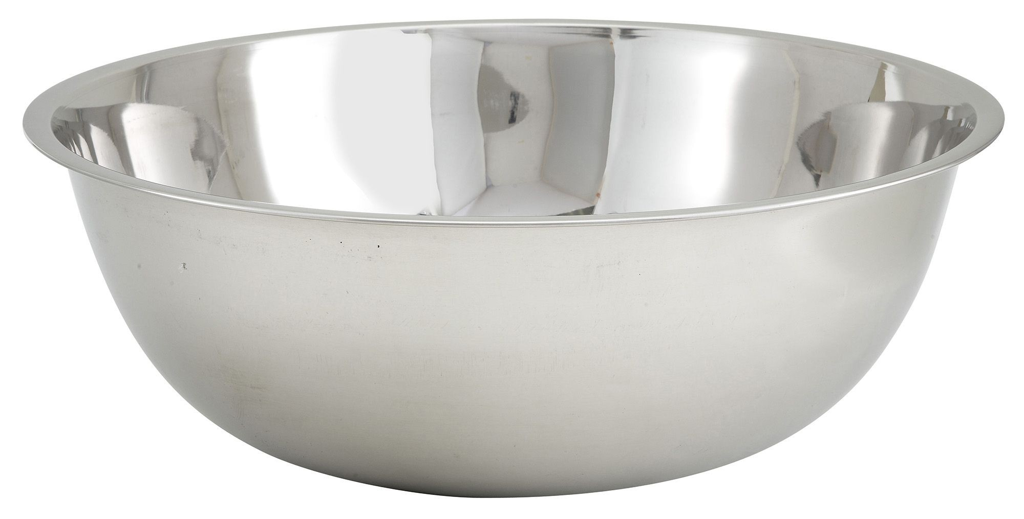 Winco MXB-2000Q Stainless Steel 20 Qt. Mixing Bowl