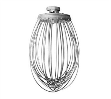 Franklin Machine Products  205-1030 Stainless Steel 20 Qt. Wire Whip for Hobart Mixer