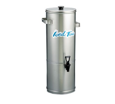 TableCraft 1958 Stainless Steel 3 Gallon Iced Tea Dispenser