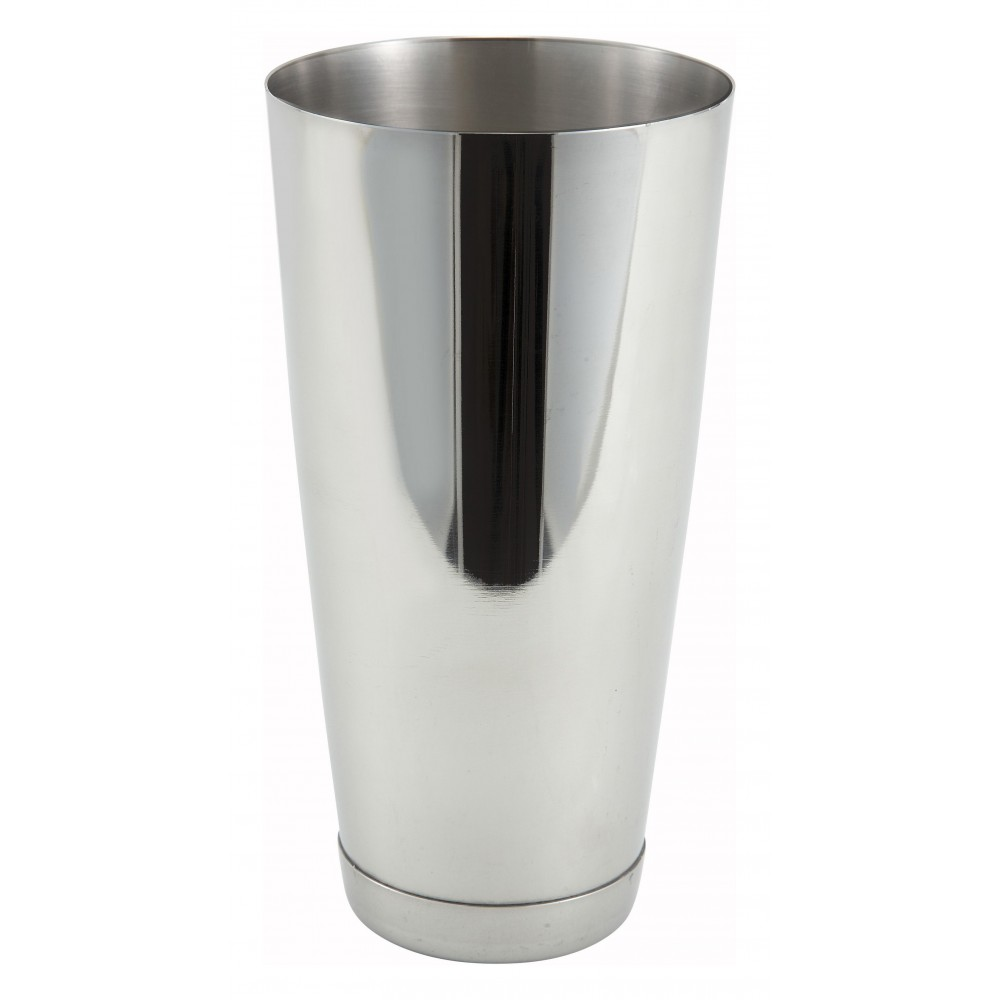 Winco bs-30 Stainless Steel 30 oz. Bar Shaker