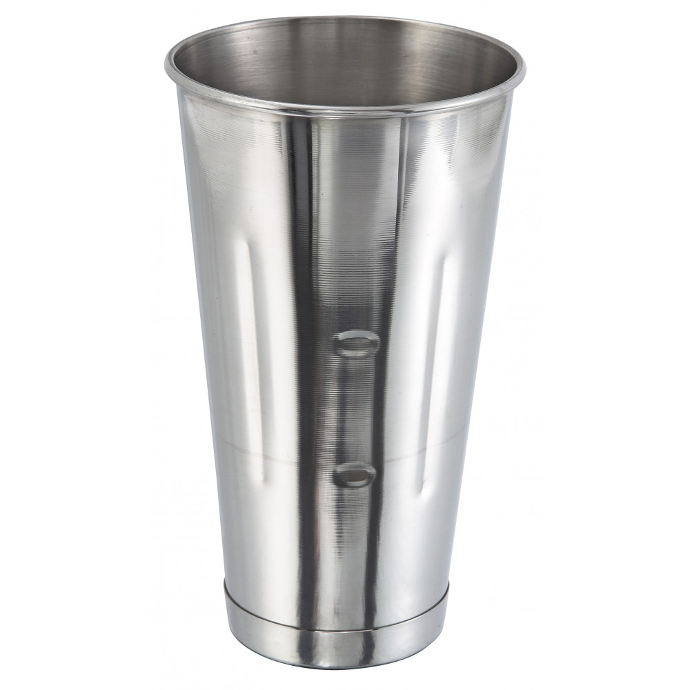 Winco Stainless Steel 30 Oz. Malt Cup [ mcp-30 ]