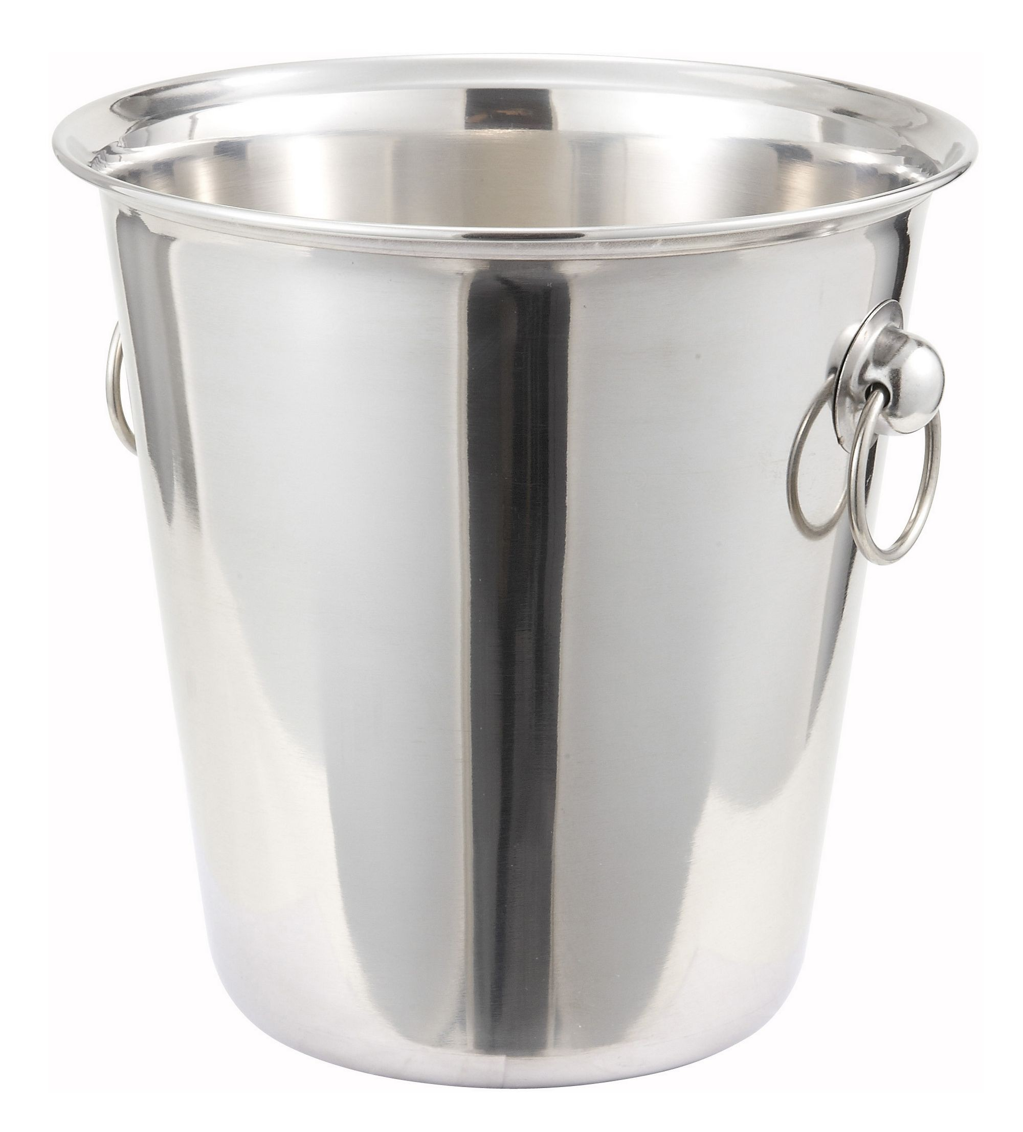 Winco WB-4 Stainless Steel Wine Bucket 4 Qt.