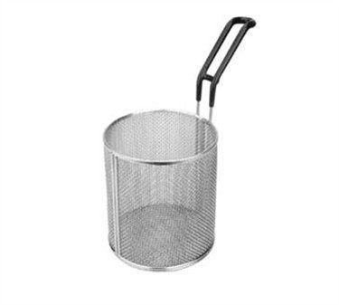 "Franklin Machine Products  226-1118 Stainless Steel 5"" Dia. Round Pasta Basket with Plastic Handle"