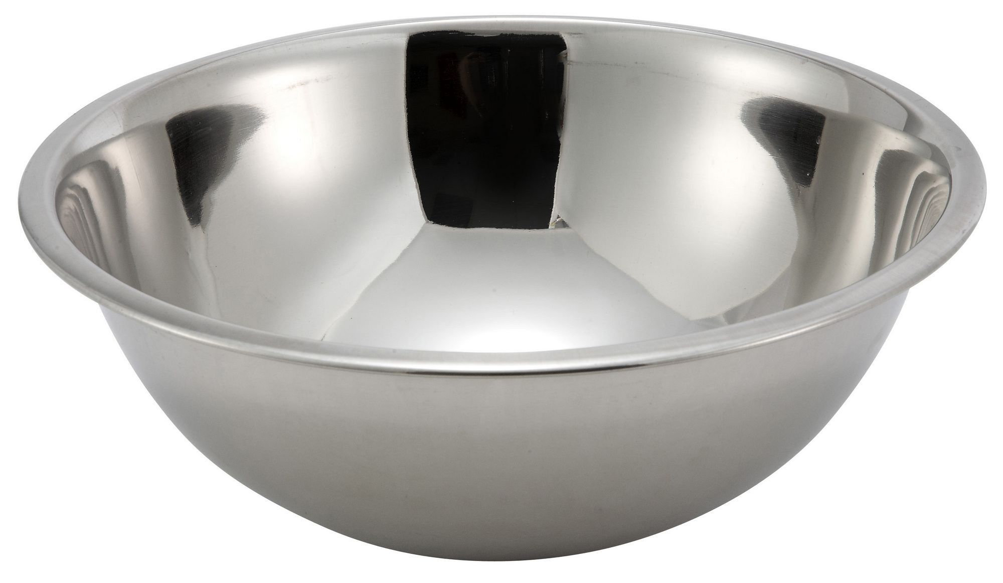 Winco MXB-500Q Stainless Steel 5 Qt. Mixing Bowl