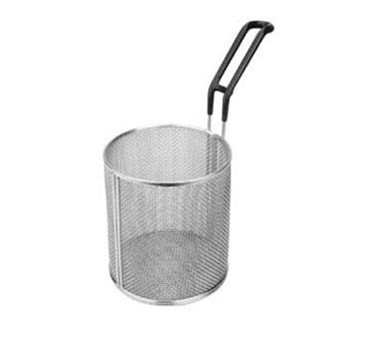 "Franklin Machine Products  226-1107 Stainless Steel 6-1/2"" Dia. Round Pasta Basket with 7"" Handle"