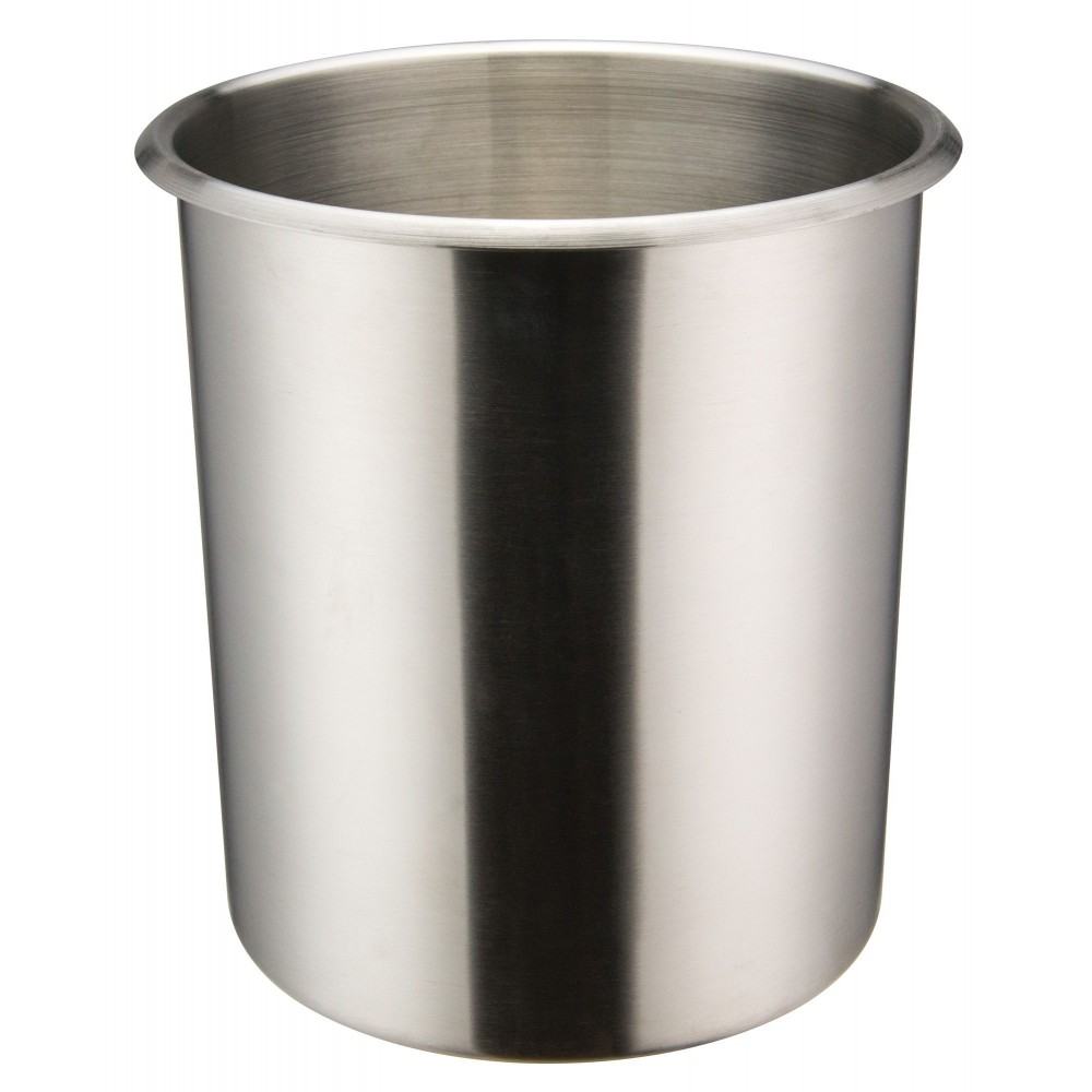 Stainless steel 6 qt bain marie 7 1 4 dia x 8 3 4 for Cuisson four bain marie