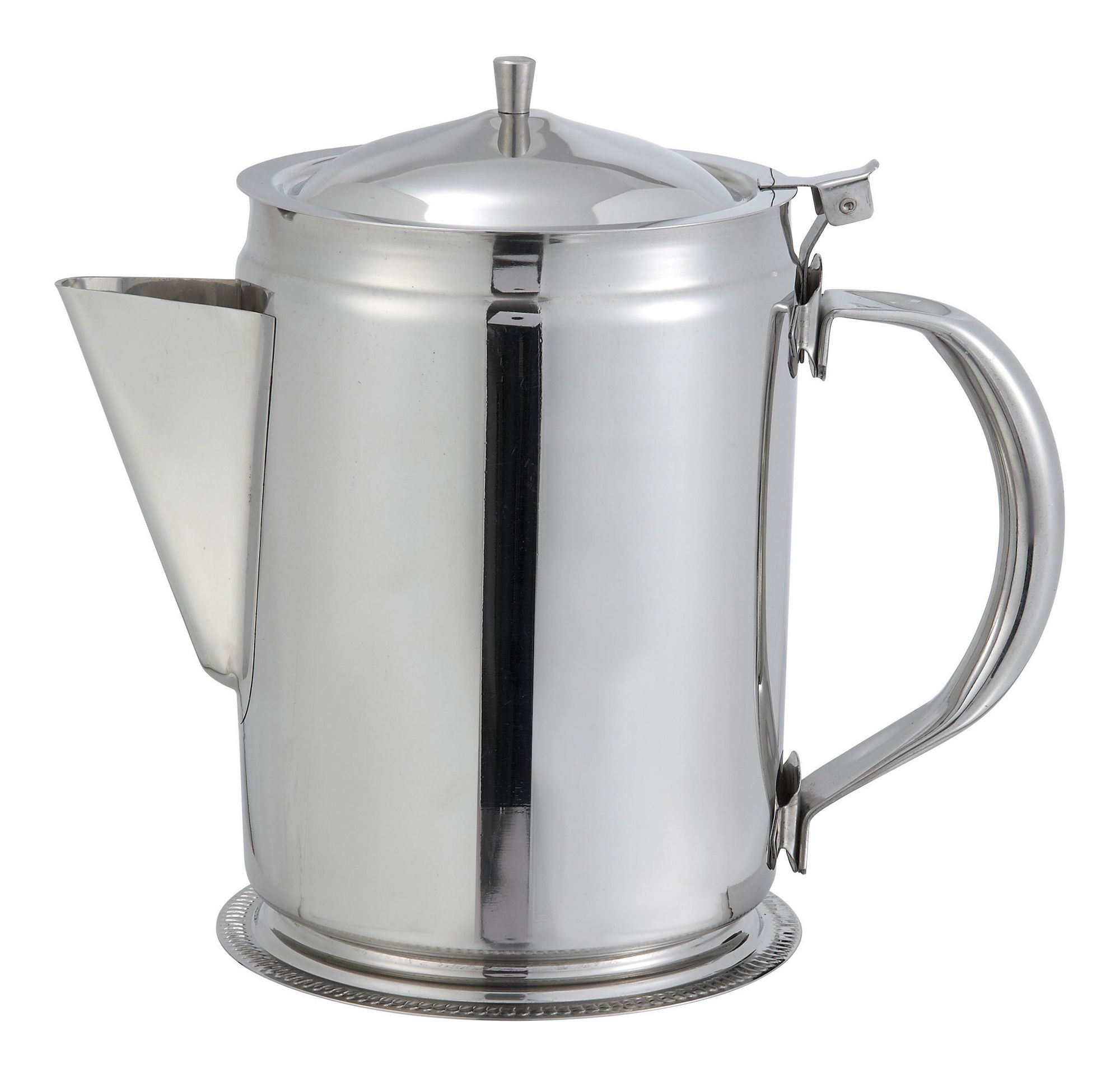 Stainless Steel 64-Oz. Beverage Server With Cover/Handle