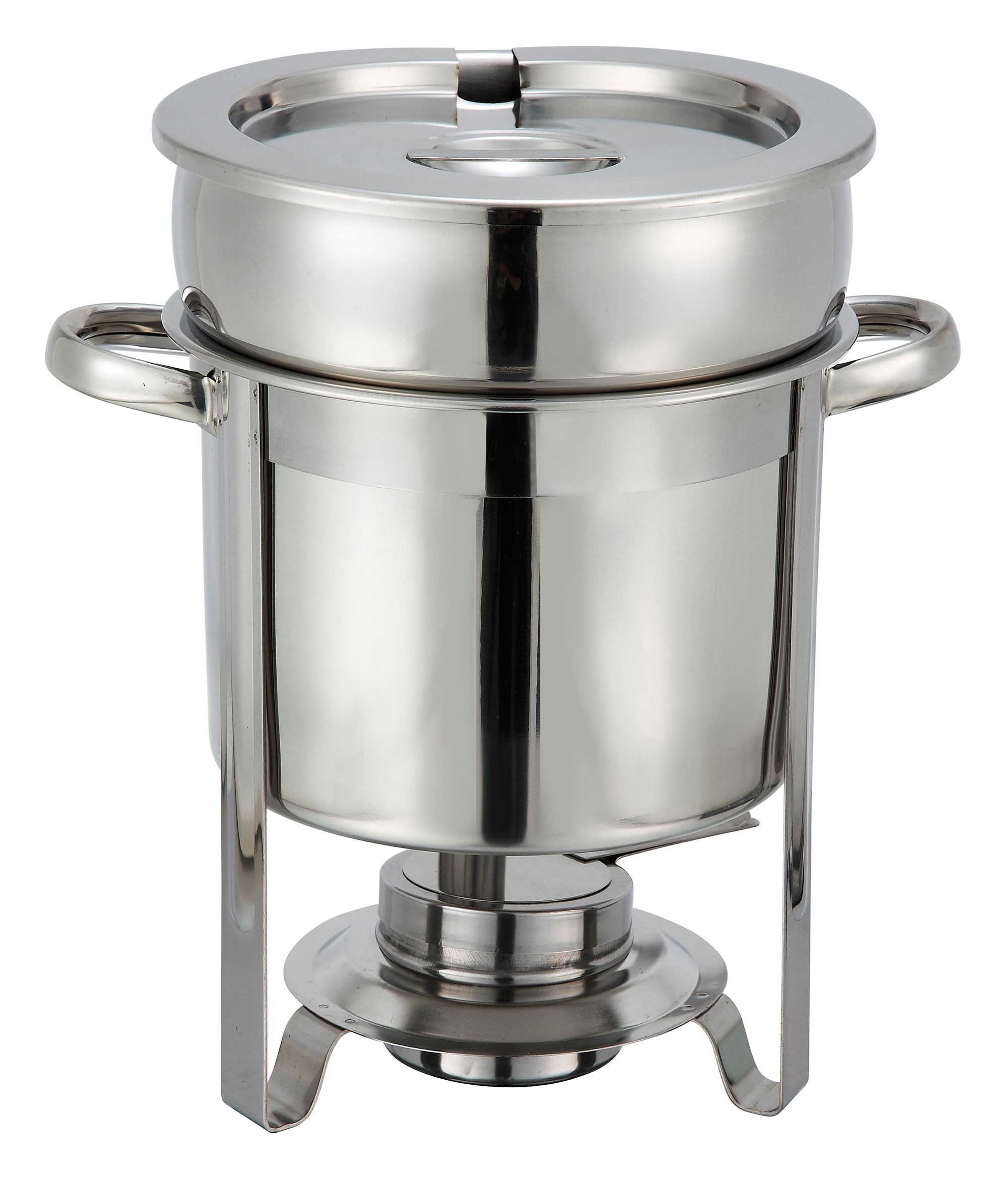 Deluxe Stainless Steel Soup Chafer 7 Qt