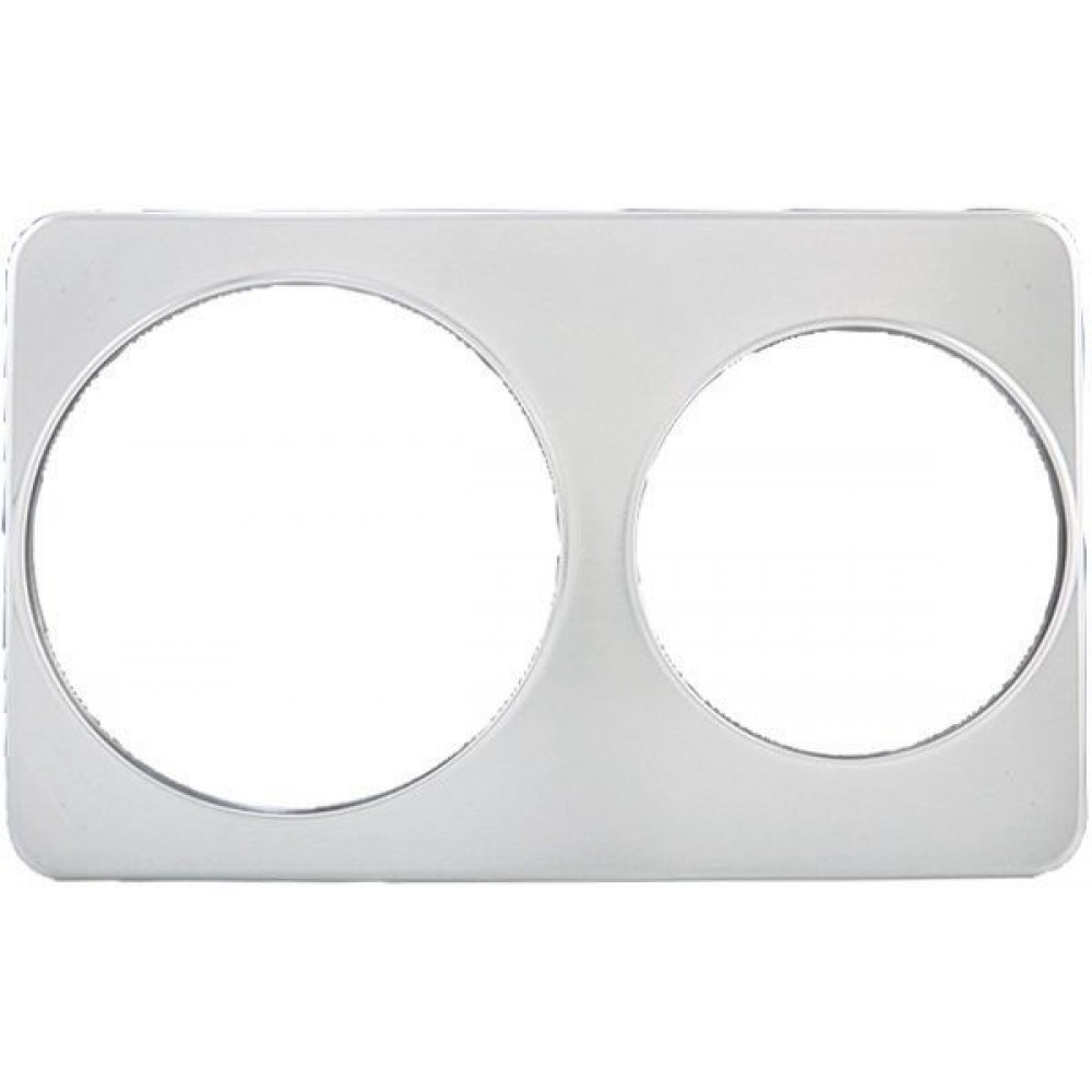 Stainless Steel Adapter Plate With Two 8-3/8 & One 10-3/8 Holes