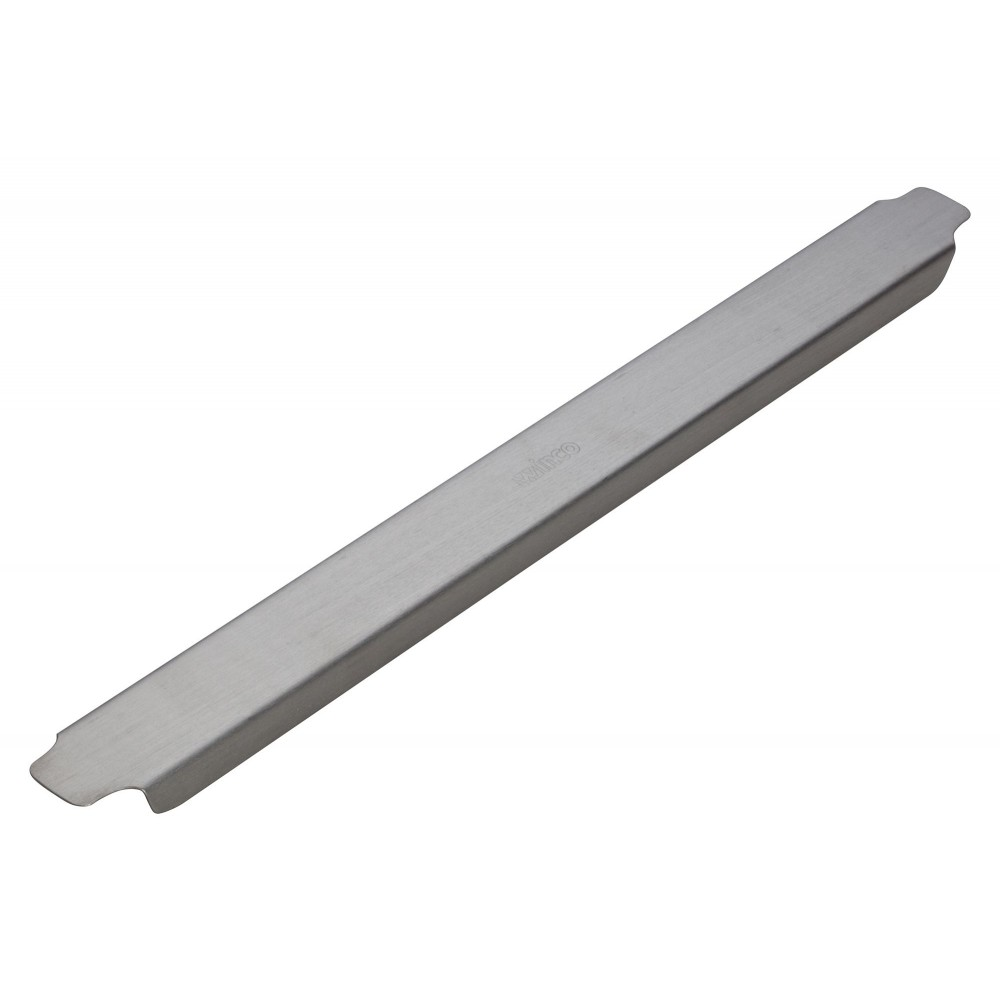 "12"" Stainless Steel Steam Table Adapter Bar"