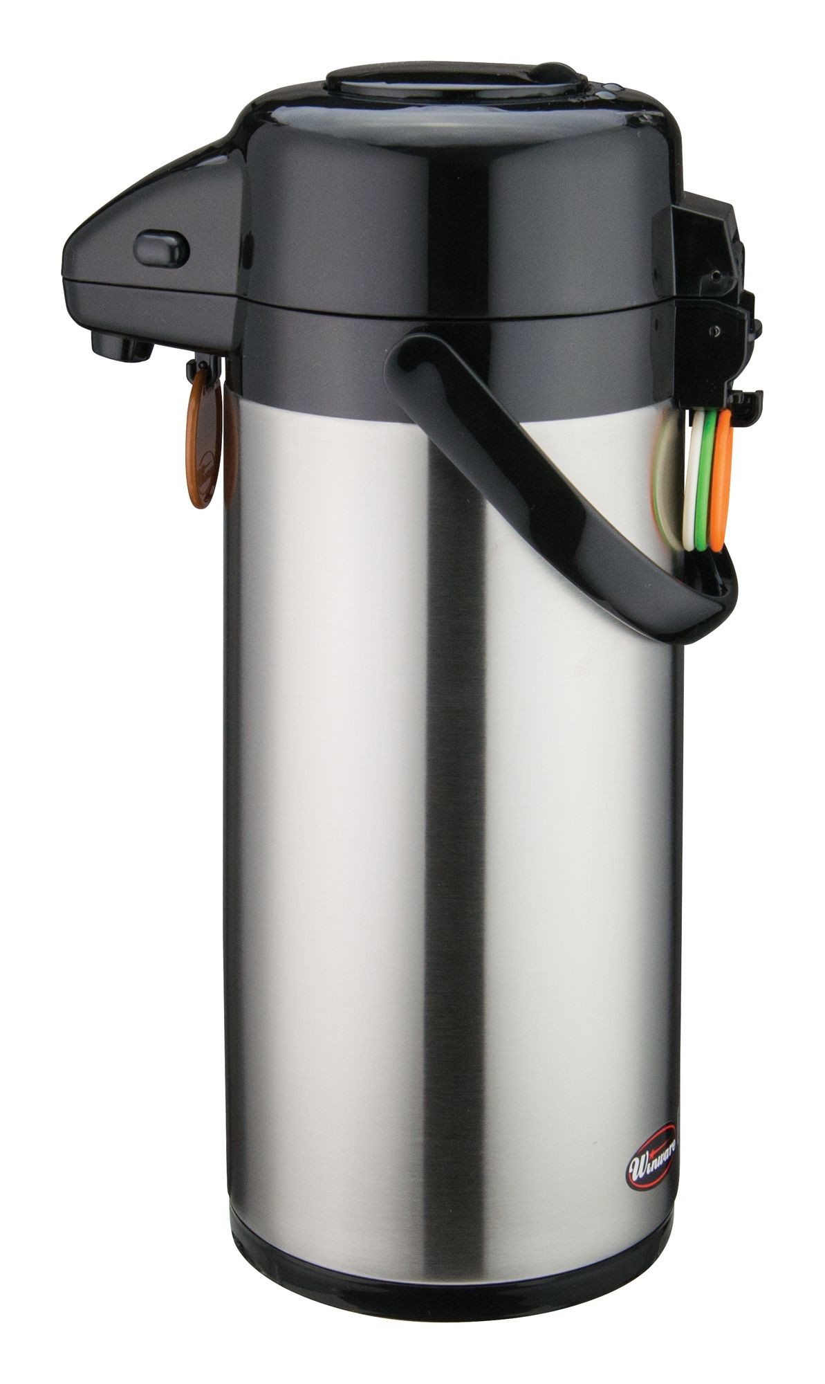 Winco APSP-925 Vacuum Server with Stainless Steel Liner and Push Button Top 2.5 Liter